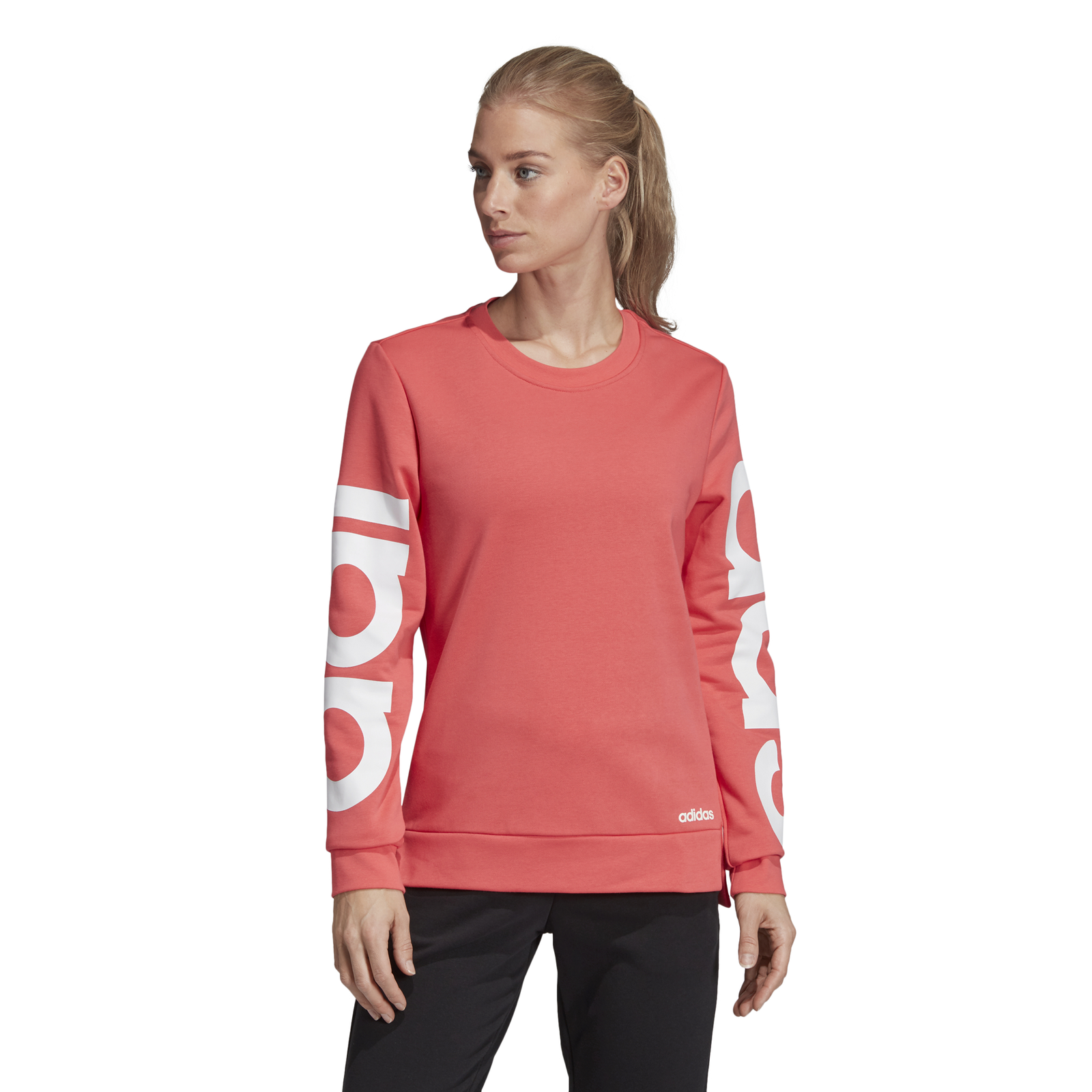 adidas damen essentials linear hoody