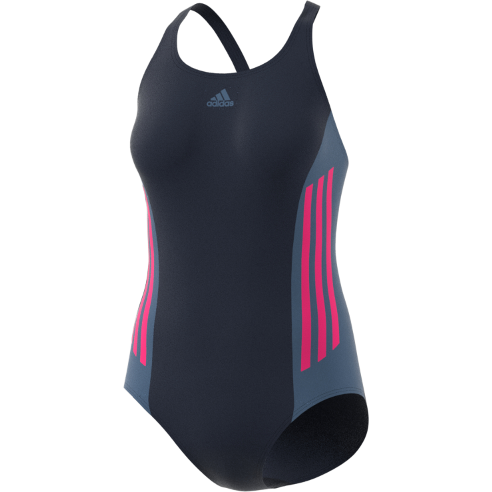 adidas Performance Damen Badeanzug athly v colorblock swimsuit legend ink
