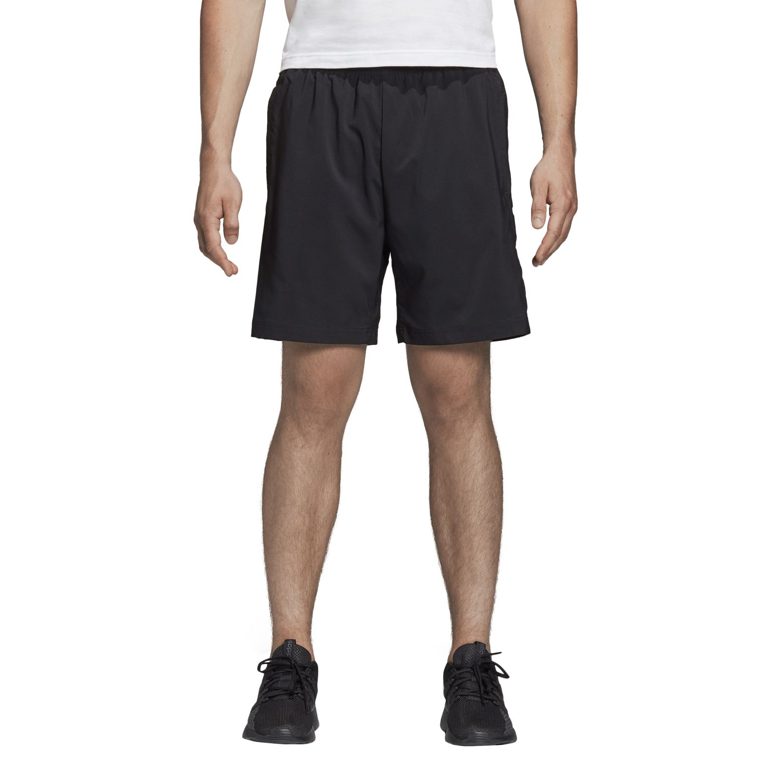 adidas Core Herren Fussball Training Short Essentials Linear Chelsea schwarz
